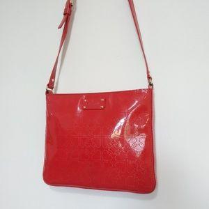 Kate Spade Darby Metro Handbag Perforated Bag